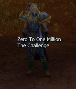 Zero to One Million Gold: Challenge Complete!