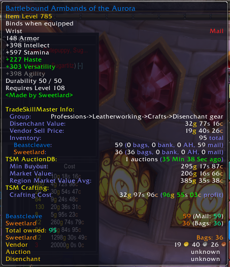An Overview Of The Legion Enchanting Shuffles The Lazy Goldmaker