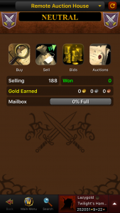 Utilizing the WoW Armoury Mobile App