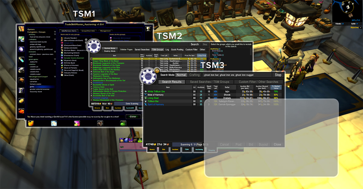 TSM4 Beta and Backups when running two accounts - The Lazy