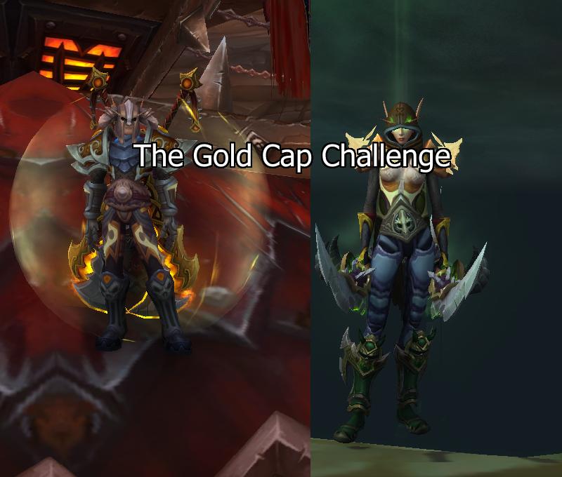 Gold Cap Challenge: Update 45 - The Lazy Goldmaker