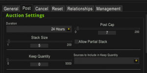 Optimal posting patterns and durations
