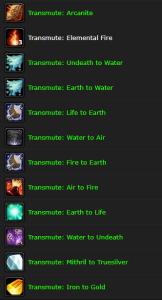 Classic Goldmaking: Transmute deep dive