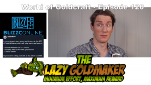 Blizzconline, 9.1 speculation and TSM 4.11 – World of Goldcraft 120