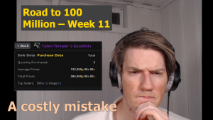 A Costly Mistake – Road to 100 Million – Week 11